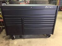 Black snap on toolbox