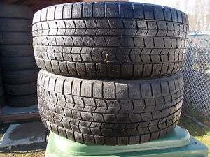 p205/55/16 inch Winter Tires / GOOD DEAL / GOOD TREAD