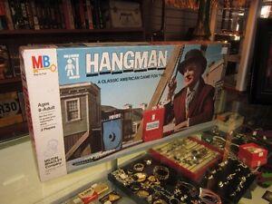 Vintage 1972 HANGMAN Board Game For Sale