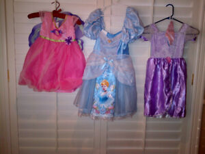 Three Disney Fantasy Play Costumes All in MINT condition!!
