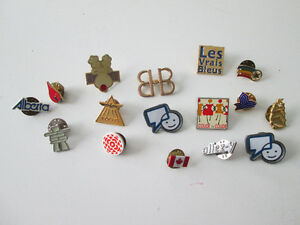 16 Collectible Pins 16 Epingles