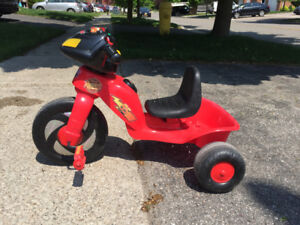 Kids Tricycle ( Cars movie themed )