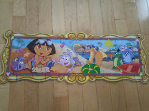 Puzzles - wooden and foam - Doc and Dora