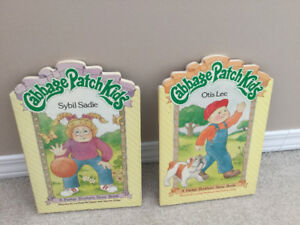 Cabbage patch board books