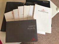 1998 Honda Legend KA9 manual, handbook