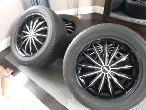 "BOSS 20"" Wheels and tires"