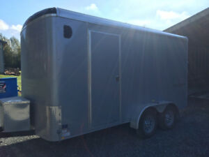 2015 TNT side x side edition cargo trailer with boat lift
