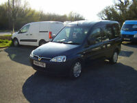 2010 VAUXHALL COMBO -C DISABLED VEHICLE 36,000 miles NO VAT