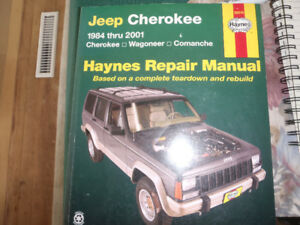 Haynes manual for Jeep Cherokee