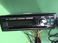 Alpine ReceiverCDE-11R Stereo Unit Used