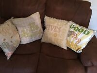 NEXT sofa cushions
