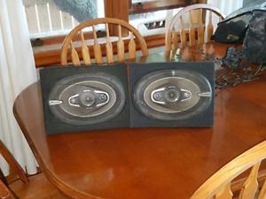Pioneer  6/9 270 watt speakers.