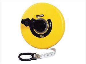 Stanley-CHIUSO-SCATOLA-fibra-di-vetro-nastro-20m-larghezza-12-7mm