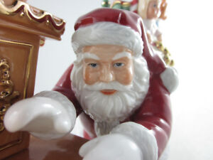 SOLD - Christmas Royal Doulton Cookies for Santa, Mint Figurine