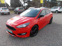 2016 Ford Focus 1.5T ( 182ps ) EcoBoost ( s/s ) Zetec S Red Edition