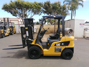 Demonstrator, Be Quick....CAT GP25N Forklift With Container Mast Davenport Bunbury Area Preview