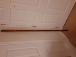 2 long copper rods/piping - Make me an offer!