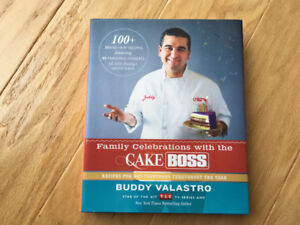 """Family Celebrations with the Cake Boss "" - like new - 2013 HC"