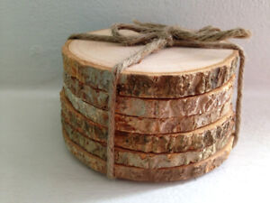 Wood slices - small & large