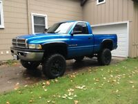 2001 Dodge 1500 Lifted