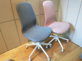 IKEA Langfjall Office Chair. Blue.