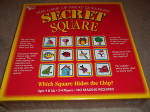 1996 SECRET SQUARE-factory sealed...brand new!