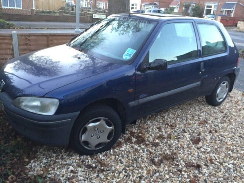 Peugeot 106 78,000 miles, £350.00, 11 months mot
