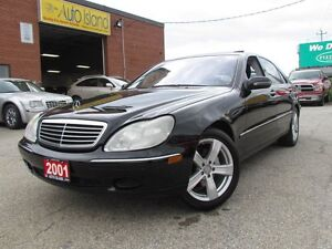 2001 Mercedes-Benz S-Class S430,Leather,Sunroof,Alloy,Heated Sea