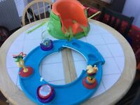 Activity and booster seat for babies