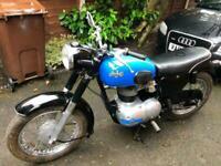 1958 AJS 250 Lightweight Type 14 BEAUTIFUL £2795