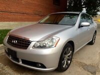 2006 Infiniti M35X, AWD, Back-up camera, Local, SAFETIED