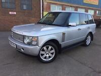 Land Rover Range Rover 3.0 Td6 Auto 2005 Vogue Silver FULL SERVICE HISTORY