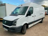 VW Crafter 136ps LWB High Roof Service History MOT Oct & 12 Months Warranty