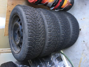 205 55 16 BMW 3 series winter tires and rims