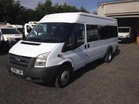 Ford Transit t350 lwb 17 seater minibus