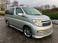 2005 Nissan Elgrand Rider 2005 FRESH IMPORT S PACKAGE AUTO 3.5 8 SEATS MPV MPV P