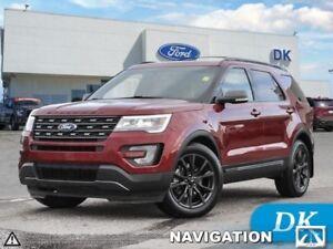 2017 Ford Explorer XLT  Leather, Moonroof, Navigation