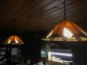 Tiffany style pendant lamps for sale