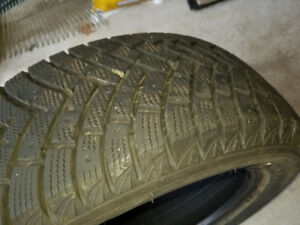 Polar Trax Ironman Winter Tires in Great Condition 205/55R16
