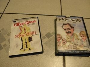 Office Space and Fawlty Towers DVDs- Fundraiser- NEGC