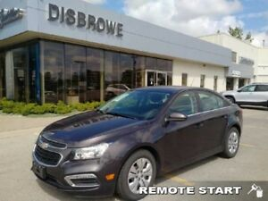 2016 Chevrolet Cruze Limited LT  Remote Start, Backup Cam, Touch