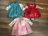 Gorgeous 0-3 month baby girl clothes bundle.