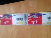 2 weekend Camping v festival tickets with Free VIP access
