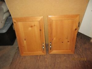 Pine Cabinet doors and drawers