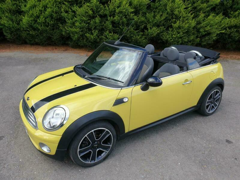 *** NOW SOLD AND GONE *** Mini Cooper 1.6 CONVERTIBLE DELIVERY POSS