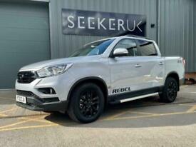 image for 2021 Ssangyong Musso MUSSO REBEL WITH BLACK PACK DEALER DEMO Pick Up Diesel Manu