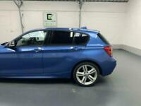 BLUE BMW 1 SERIES 2.0 116D M SPORT 5D DIESEL *BUY TODAY FROM £47 PER WEEK*