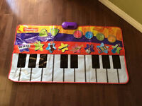 Fisher Price Musical Floor Piano Play Mat
