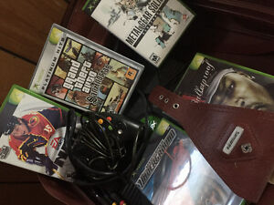 First Xbox, 1 controller, multiple games