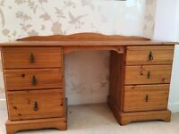 Beautiful pine dressing table